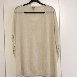 JJill sheer sweater